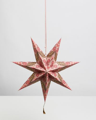 Carolyn Donnelly Eclectic Tassel Paper Star