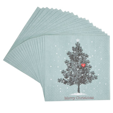 greenCarolyn Donnelly Eclectic Christmas Paper Napkins - Pack Of 20