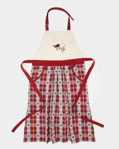 Carolyn Donnelly Eclectic Christmas Check Apron