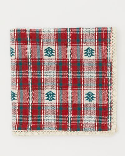 Carolyn Donnelly Eclectic Christmas Check Napkin