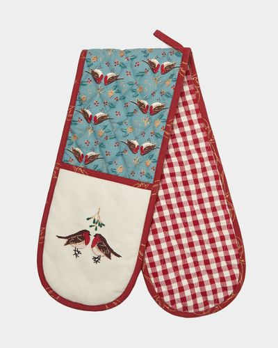Carolyn Donnelly Eclectic Christmas Oven Glove
