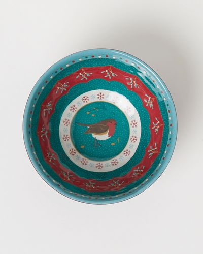 Carolyn Donnelly Eclectic Robin Design Melamine Dip Bowl thumbnail