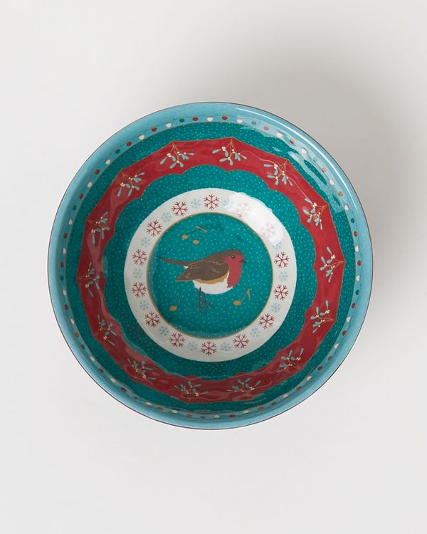 Carolyn Donnelly Eclectic Robin Design Melamine Dip Bowl
