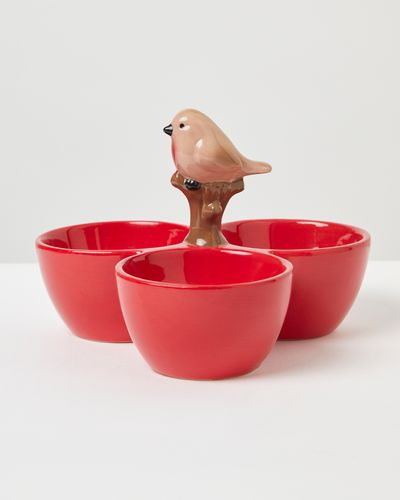 Carolyn Donnelly Eclectic Robin Dip Bowl