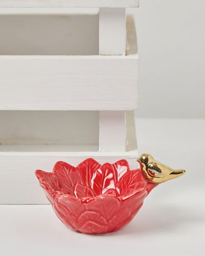 Carolyn Donnelly Eclectic Poinsettia Bowl