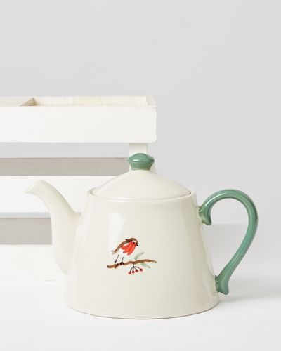 Carolyn Donnelly Eclectic Robin Handpainted Teapot