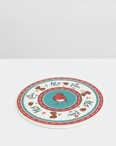 Carolyn Donnelly Eclectic Christmas Trivet