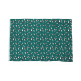 green Carolyn Donnelly Eclectic Palm Springs Tea Towel