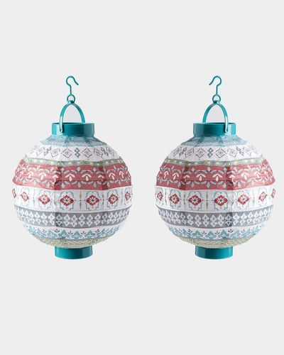 Carolyn Donnelly Eclectic Paper Lanterns - Set Of 2 thumbnail