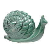 green Carolyn Donnelly Eclectic Snail