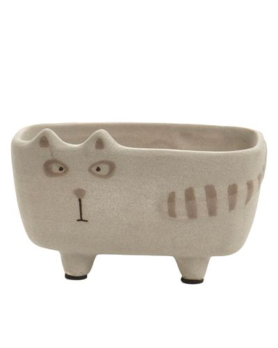 Carolyn Donnelly Eclectic Cat Planter