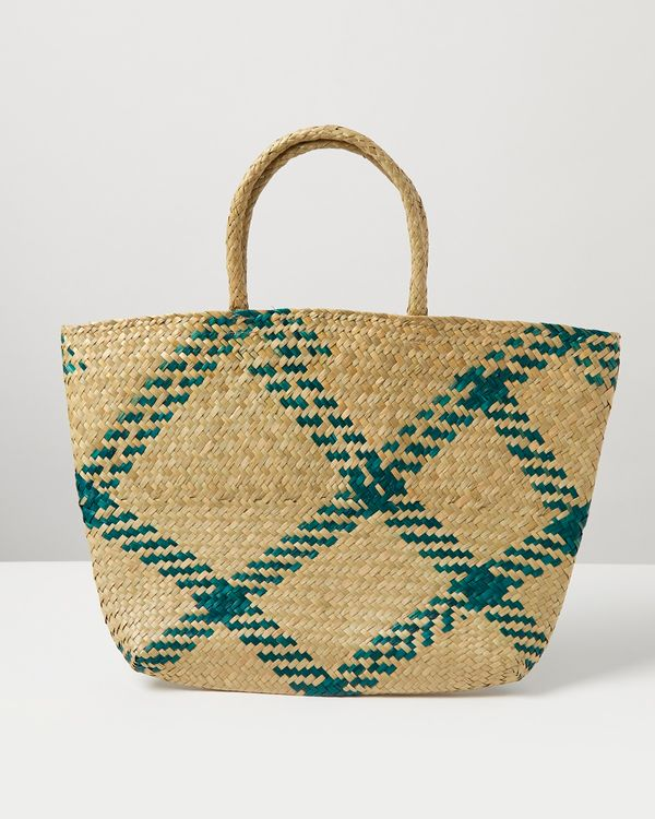Carolyn Donnelly Eclectic Seagrass Shopper