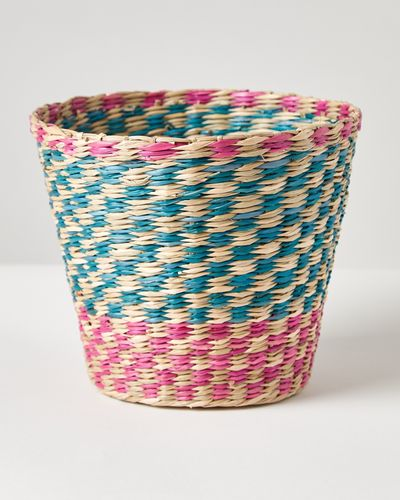 Carolyn Donnelly Eclectic Seagrass Basket