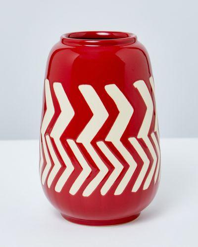 Carolyn Donnelly Eclectic Arrow Ceramic Vase thumbnail