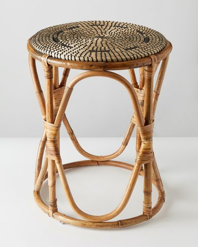 Carolyn Donnelly Eclectic Seagrass Table