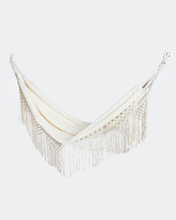Carolyn Donnelly Eclectic Hammock With Fringe