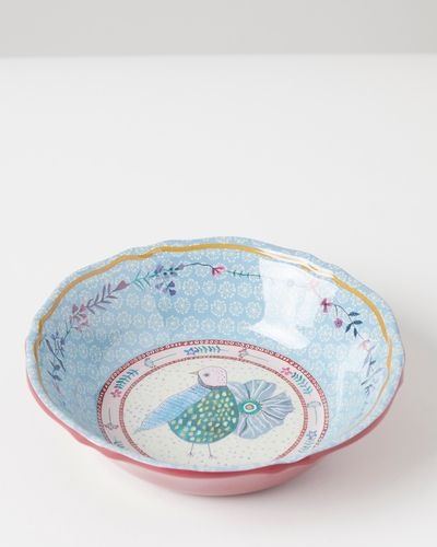 Carolyn Donnelly Eclectic Scalloped Bowl