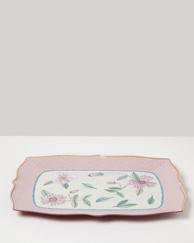Carolyn Donnelly Eclectic Scalloped Serving Platter
