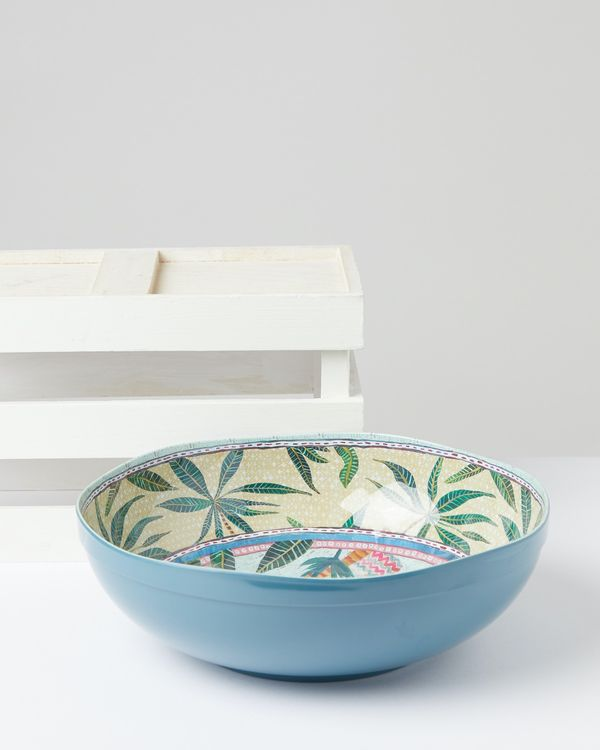 Carolyn Donnelly Eclectic Marrakesh XL Melamine Bowl
