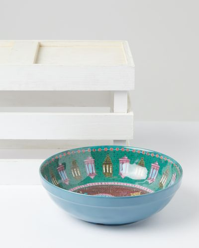 Carolyn Donnelly Eclectic Marrakesh Melamine Salad Bowl