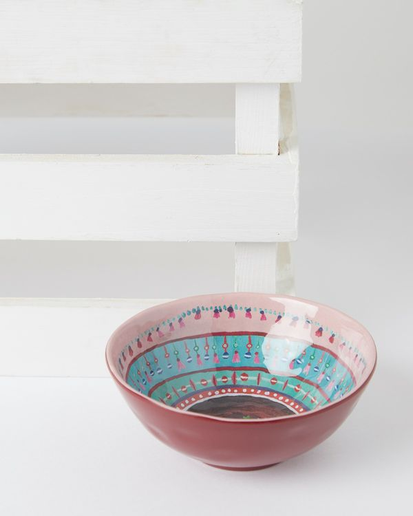 Carolyn Donnelly Eclectic Marrakesh Melamine Dip Bowl