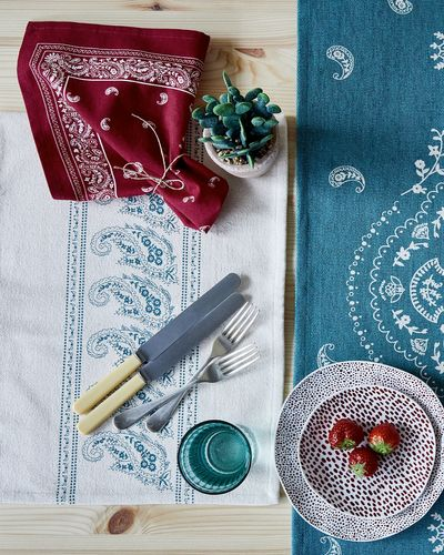 Carolyn Donnelly Eclectic Paisley Napkin