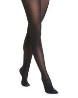 black 40 Denier Velvet Opaque Tights