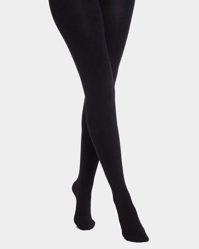 140 Denier Thermal Opaque Tights thumbnail