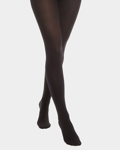 100 Denier Opaque Tights - Pack Of 3