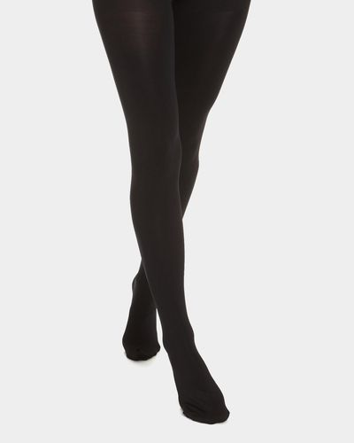 200 Denier Opaque Tights - Pack Of 2