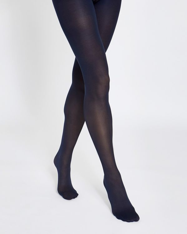 40 Denier Coloured Opaque Tights - Pack Of 3
