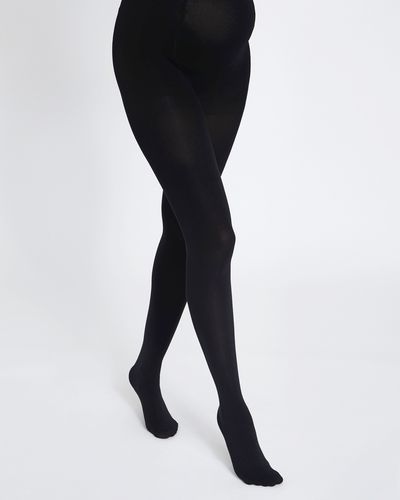 100 Denier Maternity Opaque Tights thumbnail