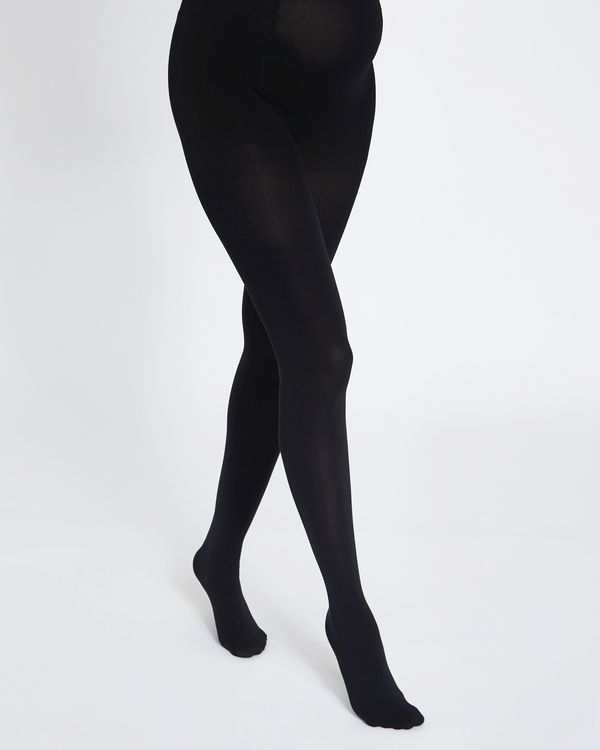 100 Denier Maternity Opaque Tights