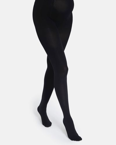 60 Denier Maternity Opaque Tights thumbnail