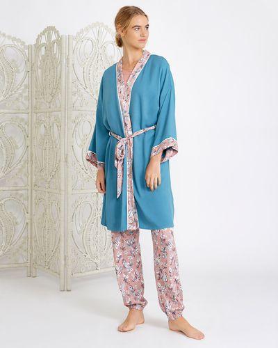 Carolyn Donnelly Eclectic Arya Viscose Twill Kimono thumbnail