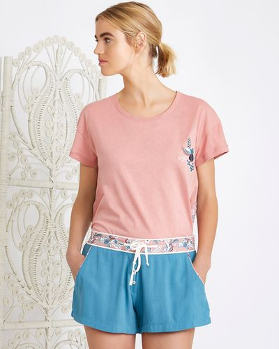 Carolyn Donnelly Eclectic Arya Viscose Twill Shorts thumbnail