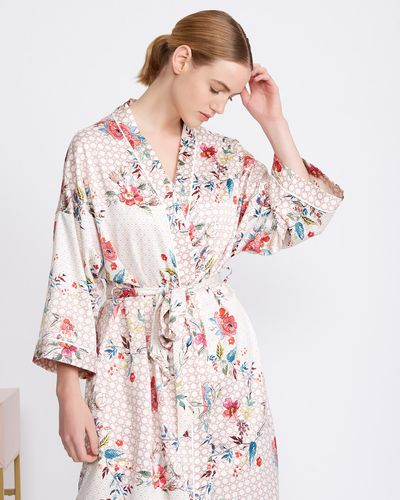 Carolyn Donnelly Eclectic Bloom Boxed Kimono thumbnail