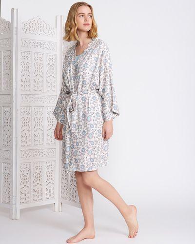 Carolyn Donnelly Eclectic Haiti Print Kimono