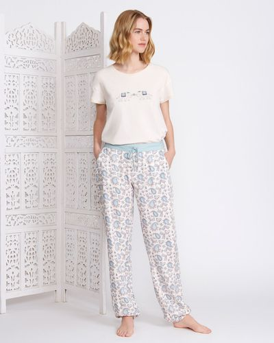 Carolyn Donnelly Eclectic Haiti Cuffed Pants