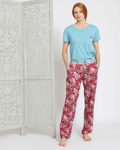 Carolyn Donnelly Eclectic Kyoto Twill Cuffed Pants