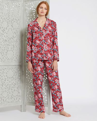 Carolyn Donnelly Eclectic Boxed Kyoto Viscose Twill Pyjama Set