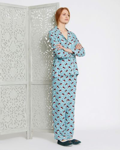 Carolyn Donnelly Eclectic Boxed Robin Viscose Twill Pyjama Set