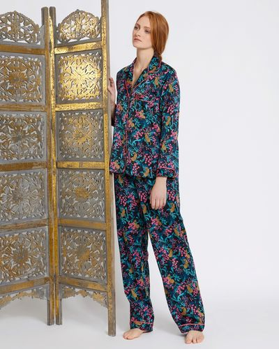 Carolyn Donnelly Eclectic Boxed Osaka Hammered Satin Pyjama Set