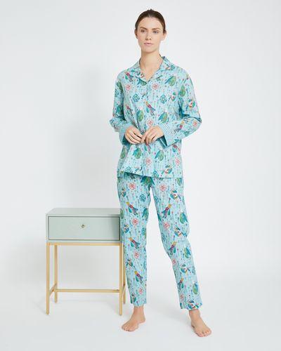 Carolyn Donnelly Eclectic Bird Cotton Pyjama Set