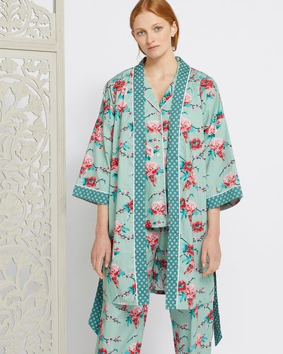 Carolyn Donnelly Eclectic Rose Kimono