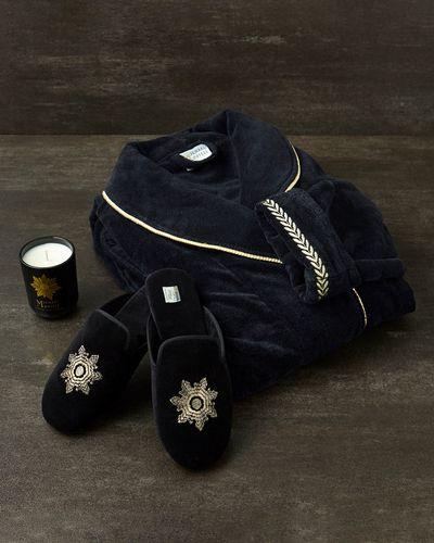 Michael Mortell Black Versailles Robe
