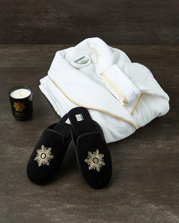 Michael Mortell White Versailles Robe