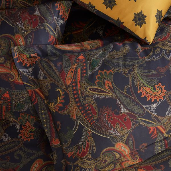 Michael Mortell Paisley Oxford Pillowcase