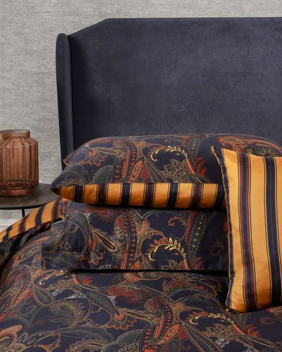 Michael Mortell Gramercy Paisley Oxford Pillowcase