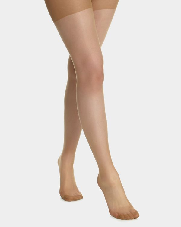 10 Denier Illusions Tights - Pack Of 2
